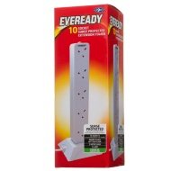 Eveready 10 Socket Surge Protected Extension Tower