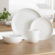 Kensington White Dinner Set 16pc
