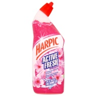 Harpic Active Fresh Toilet Cleaner 750ml - Pink Blossom