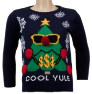Boys Christmas Jumper - Cool Yule