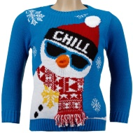 Boys Christmas Jumper - Chill