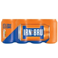 Irn Bru Regular 8 x 330ml