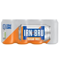 Irn Bru Sugar Free 8 x 330ml
