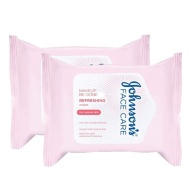 Johnson's Face Wipes 2 x 25pk