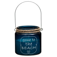 Nautical Quote Candle Jar - Gone to the Beach