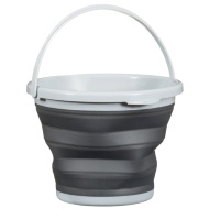 Collapsible Bucket 10L - Charcoal