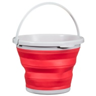 Collapsible Bucket 10L - Red