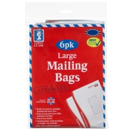 Large Mailing Bags 6pk