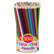Hobby World Colouring Pencils 100pk