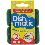 Dishmatic Washing Up Refill 2pk