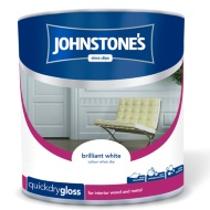 Johnstone's Quickdry Gloss Paint - Brilliant White 2.5L