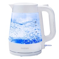 Goodmans Glass Kettle - White