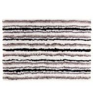 Oversized Luxury Striped Bath Mat