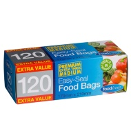 Resealable Food Bags 120pk