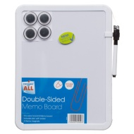 Magnetic Double-Sided Whiteboard