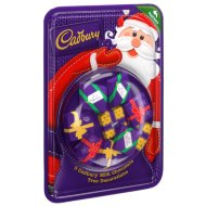 Cadbury Christmas Tree Chocolate Decorations 9pk
