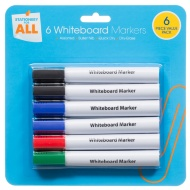 White Board Marker 6pk