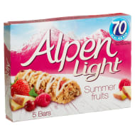 Alpen Light Summer Fruits 5 Cereal Bars