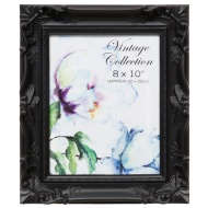 8x10 Vintage Collection Single Black Aperture Frame