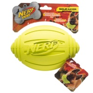 Nerf Ridged Squeaker Football