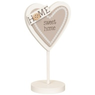 Heart Slogan Stand - Home Sweet Home