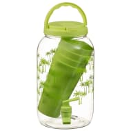 Drinks Dispenser with 4 Tumblers 3.6L