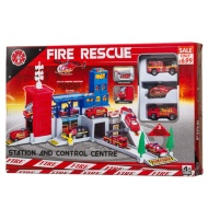 Fire Rescue Station Play Set