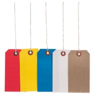 Tie on Tags Assorted 20pk
