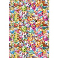 Licensed Wrapping Paper - Shopkins 4m