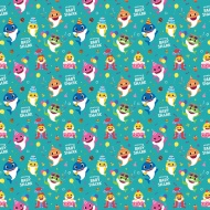 Baby Shark Wrapping Paper 4m
