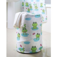 Character Laundry Bin - Frog