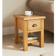 Wiltshire Oak Lamp Table