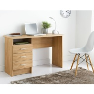 Hansberg 3 Drawer Desk