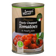 Seasons Harvest Premium Finely Chopped Tomatoes 400g