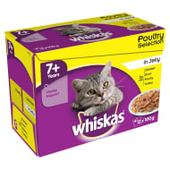 Whiskas Senior in Jelly 12 x 100g