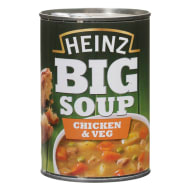 Heinz Big Soup Chicken & Vegetable 400g