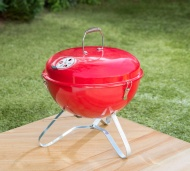 Bistro Portable BBQ - Red
