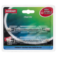 Eveready Halogen 400W Linear Light Bulbs 2pk