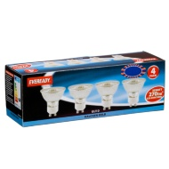 Eveready Halogen GU10 35W Light Bulbs 4pk