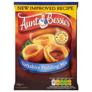 Aunt Bessie's Yorkshire Pudding Mix 120g