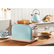 Prolex Pastel 2 Slice Toaster - Blue