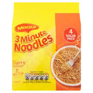 Maggi 3 Minute Noodles Curry Flavour 4 x 59g