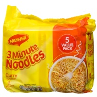 Maggi 3 Minute Noodles Curry Flavour 5 x 59g