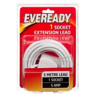 Eveready 1 Socket Extension Lead 5m