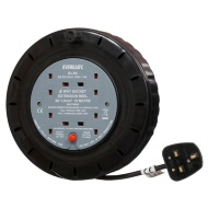 Eveready 4 Socket Extension Reel 10m