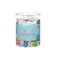 Easter Crafts Sticker Tub