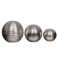 Silver Etched Balls 3pk