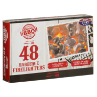 how to start a bbq with firelighters
