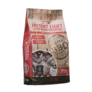 Instant Light Lumpwood BBQ Charcoal 2kg