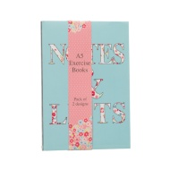 A5 Exercise Books 2pk - Flowers